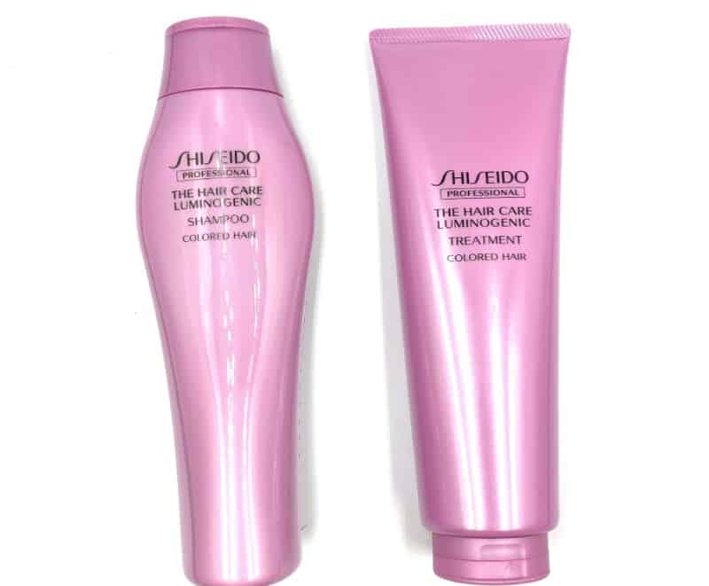 SHISEIDO「ルミノジェニック」のシャンプーを美容師が実際に使ったレビュー記事