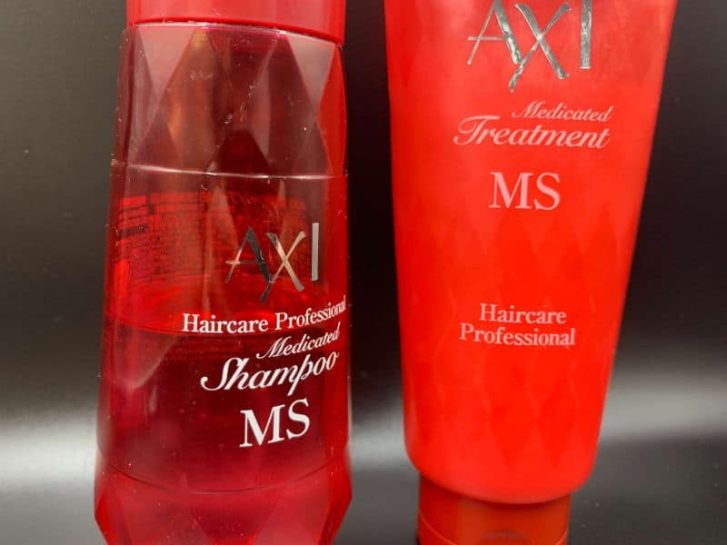 クオレの「AXIシャンプーMS」を美容師が実際に使ったレビュー記事
