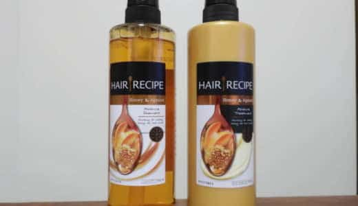 P&G「HAIR RECIPE(ヘア レシピ)シャンプー ハニーアプリコット エンリッチモイスチャーレシピ」を美容師が実際に使ったレビュー