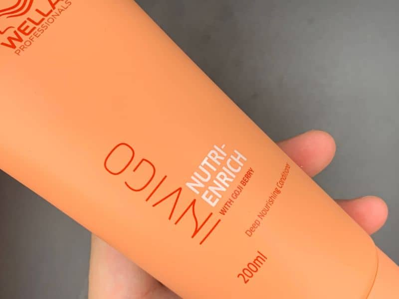 ウエラプロフェッショナル「エンリッチ」モイスチャライジングシャンプーを美容師が実際に使ったレビュー記事