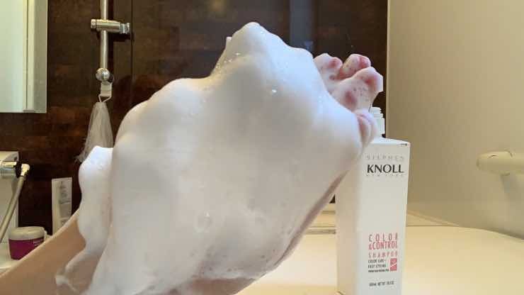 コーセー「スティーブンノル」カラーコントロール シャンプーを美容師が実際に使ったレビュー記事