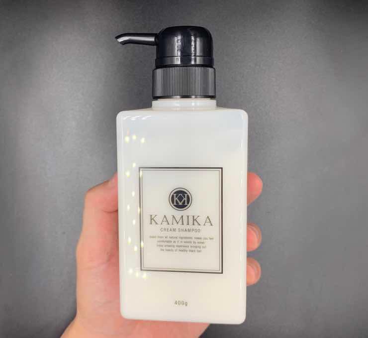 「KAMIKA(カミカ)」黒髪クリームシャンプーを美容師が実際に使ったレビュー記事