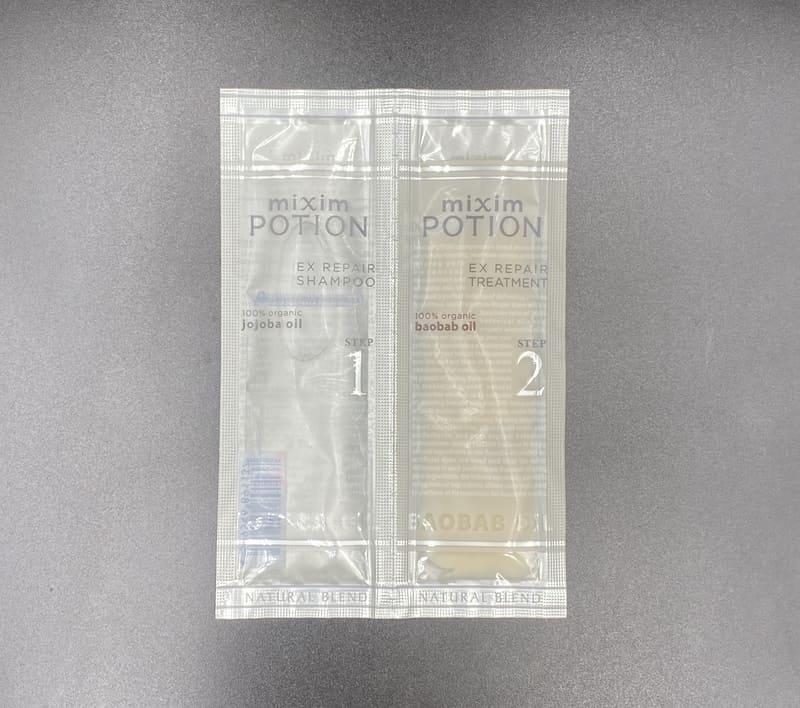 「mixim POTION(ミクシムポーション)リペアシャンプー」を美容師が実際に使ったレビュー記事【市販】
