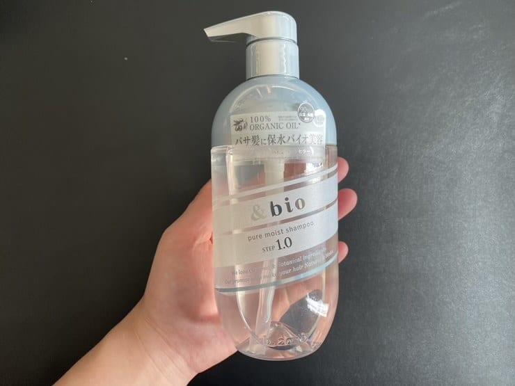 【実証】「&bio(アンドビオ)ピュアモイストシャンプー」を美容師が実際に使った評価レビュー